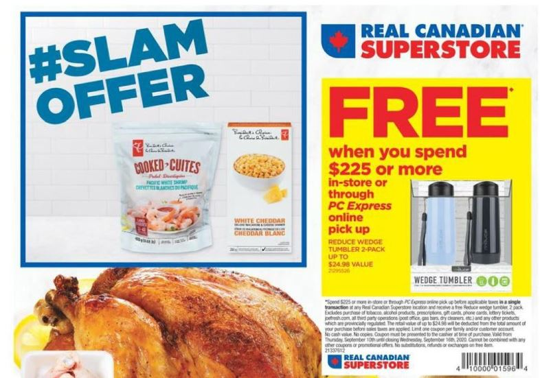Real Canadian Superstore Ontario Pc Optimum Offers Flyer Deals September 10th 16th Canadian Freebies Coupons Deals Bargains Flyers Contests Canada