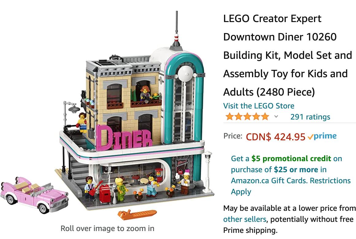 Amazon Canada LEGO Building Kit Deals!