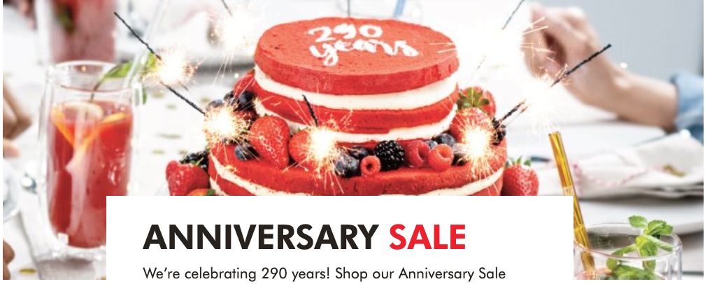 Zwilling Canada Anniversary Sale: Save up to 70% off