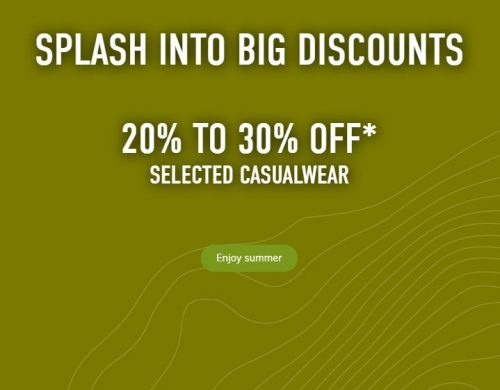 SAIL Canada Deals: Save 20% – 30% OFF Casual Wear + Up to 70% OFF Clearance